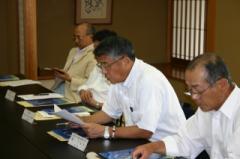 H21.7.10 中津ブロック 正副組織・総務委員会 『藤』