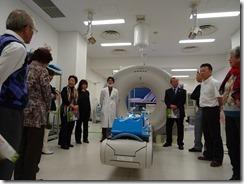 H26.10.25陽子線がん治療センター視察 015